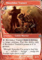 Bloodshot Trainee on Channel Fireball