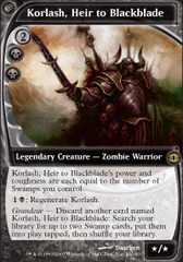 Korlash, Heir to Blackblade