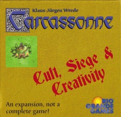 Carcassonne: Cult, Siege and Creativity (OOP)