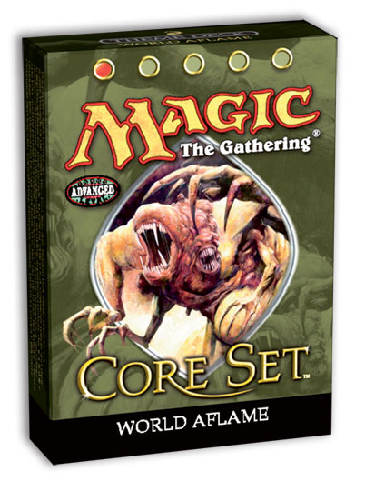9th Edition World Aflame Theme Deck
