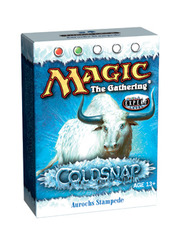 Coldsnap Aurochs Stampede Theme Deck on Channel Fireball