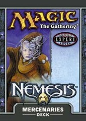 Nemesis Mercenaries Precon Theme Deck