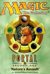 Portal Second Age Natures Assault Precon Theme Deck