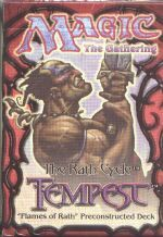 Tempest Flames of Rath Precon Theme Deck