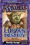 Urza's Destiny Battle Surge Precon Theme Deck