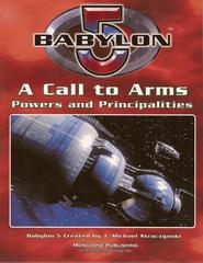 Babylon 5: A Call to Arms (Second Edition); Powers and Principalities