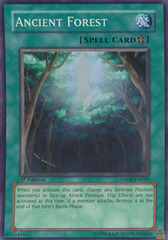 Ancient Forest - ANPR-EN048 - Super Rare - 1st Edition on Channel Fireball