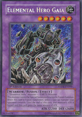 Elemental Hero Gaia - ANPR-EN099 - Secret Rare - 1st Edition on Channel Fireball