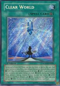Clear World - SOVR-EN099 - Secret Rare - 1st Edition