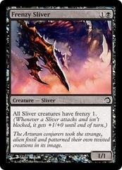 Frenzy Sliver - Foil on Channel Fireball