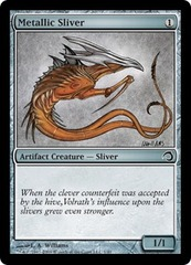 Metallic Sliver - Foil on Channel Fireball