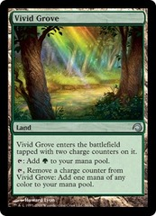 Vivid Grove - Foil on Channel Fireball