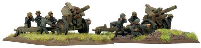 12.2cm FH396(r) howitzer (x2)