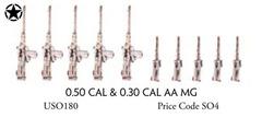 0.50 Cal & 0.30 Cal AA MG