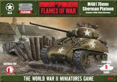 UBX05: M4A1 76mm Sherman Platoon