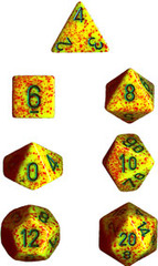 Lotus Speckled 7 Dice Set - CHX25312