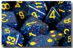 7-die Polyhedral Set - Speckled Twilight - CHX25366