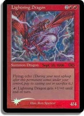 Lightning Dragon - Foil - Prerelease Promo
