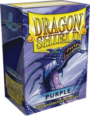 Dragon Shield Box of 100 in Purple on Channel Fireball