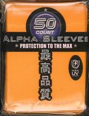 Max Protection Alpha Orange Large Sleeves