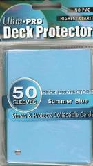 Ultra Pro Standard Sleeves Pack of 50 in Summer Blue