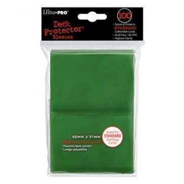 Ultra Pro Deck Protector Green (100 ct)