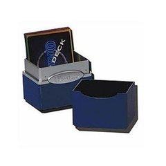 Satin Deck Box - Blue