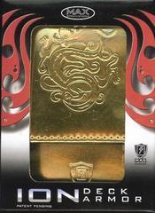 Max Ion Metallic Gold Dragon Logo Deck Box