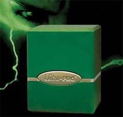 Satin Deck Box - Green