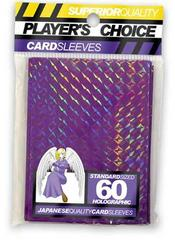 Player's Choice Holographic Purple Sleeves
