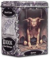 Rook Capsule Artist Series (Gallery One) Steel Alloy Deck Case - Demon - Todd Lockwood