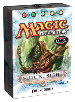 Future Sight Future Shock Precon Theme Deck