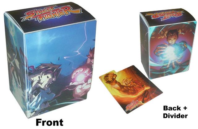 Max Protection Street Fighter Ryu Vs Akuma Deck Box