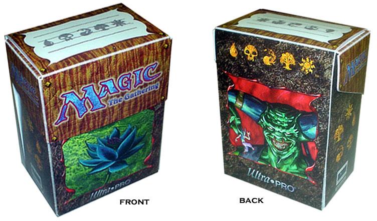 Deck Box - Black Lotus and Juzam Djinn