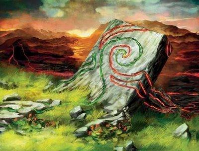 Alara Reborn Firewild Borderpost Playmat