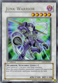 Junk Warrior - 5DS1-EN041 - Ultra Rare - 1st Edition