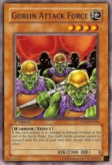 Goblin Attack Force - 5DS2-EN008 - Common - 1st Edition on Channel Fireball