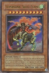 Supersonic Skull Flame - WB01-EN001 - Ultra Rare - Limited Edition