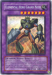 Elemental Hero Grand Neos - CT04-EN001 - Secret Rare - Limited Edition