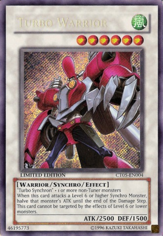 Turbo Warrior - CT05-EN004 - Secret Rare - Limited Edition