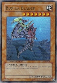Buster Blader - YAP1-EN006 - Ultra Rare - Limited Edition