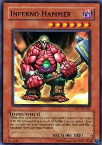 Inferno Hammer - CMC-EN002 - Super Rare - Limited Edition