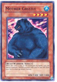 Mother Grizzly - CP04-EN013 - Common - Unlimited Edition