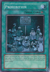 Prohibition - CP08-EN002 - Super Rare - Promo Edition on Channel Fireball