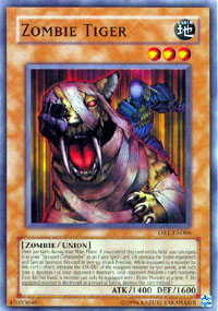 Zombie Tiger - DR1-EN066 - Common - Unlimited Edition