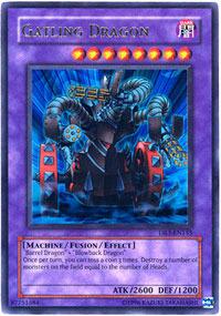 Gatling Dragon - DR3-EN155 - Ultra Rare - Unlimited Edition