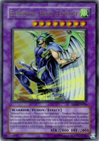 Elemental Hero Tempest - DR04-EN094 - Super Rare - Unlimited Edition