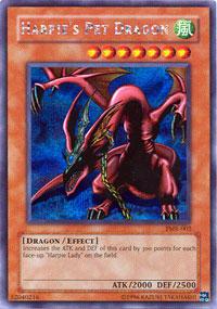 Harpie's Pet Dragon - FMR-002 - Secret Rare - Limted Edition