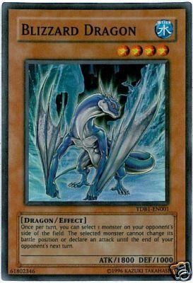 Blizzard Dragon - YDB1-EN001 - Super Rare - Limited Edition