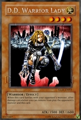 D.D. Warrior Lady - HL06-EN003 - Parallel Rare - Promo Edition